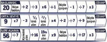 matematikproblemi Dahiler için Matematik Problemi